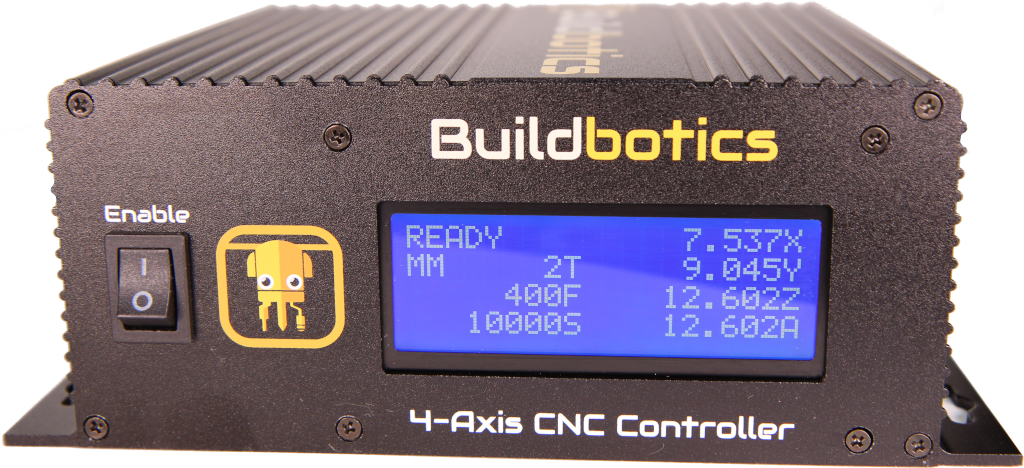 Front view of Buildbotics CNC Controller