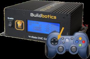 Buildbotics CNC controller Gamepad