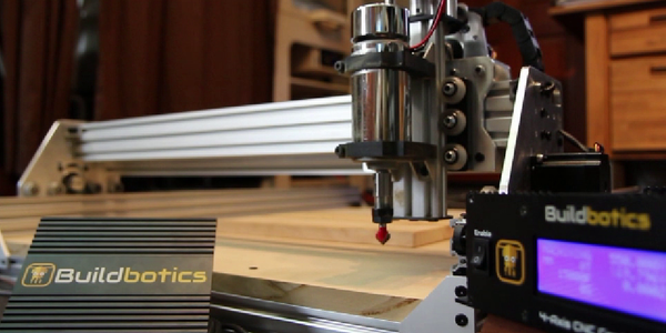 The OX CNC Router Powered by the Buildbotics Controller