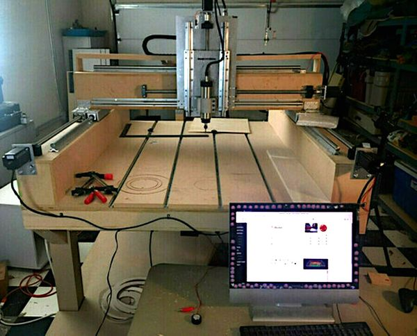 Doug's DIY Buildbotics CNC Router
