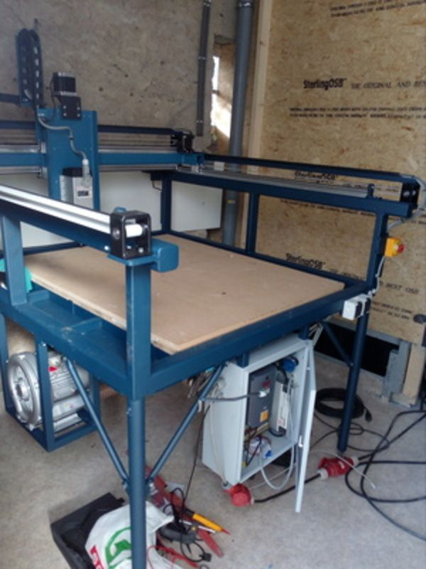 Antones Brabants' Custom Buildbotics CNC Router
