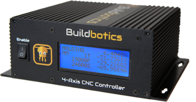 The Buildbotics CNC machine controller