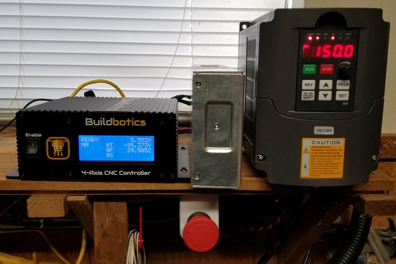 Randy Savell S 6040 Buildbotics Cnc With Huanyang Vfd Spindle